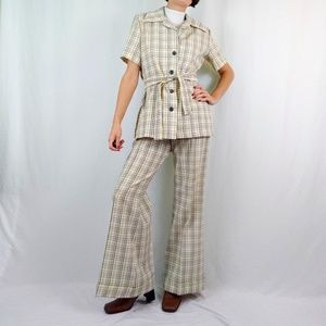 70's bell bottom leisure suit